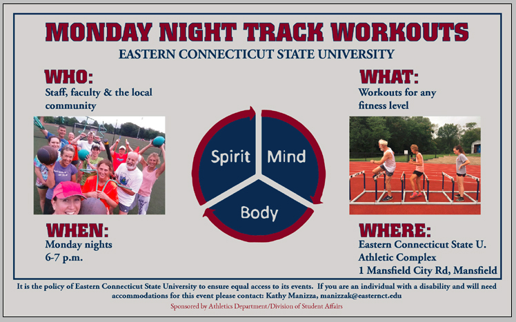 ECSU Track Workouts