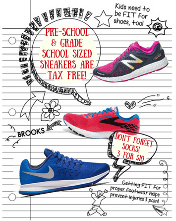 Tax Free Kids Shoes
