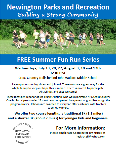 Newington Summer Fun Runs